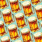 Beer Pattern 2 by Kelly  Gilleran