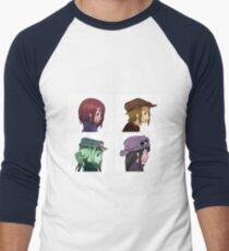 Houkago Tea Time (K-ON!) and Gorillaz mashup T-Shirt