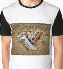 Junkyard in the Desert Graphic T-Shirt