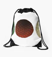 Dragon Eggs Drawstring Bag