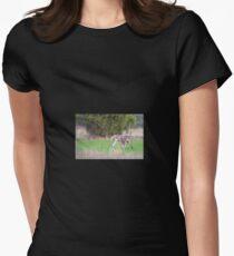 Kangaroos Womens Fitted T-Shirt