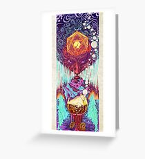 Psychonaut Greeting Card