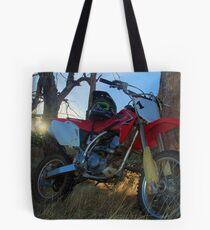 Trail Bike Tote Bag