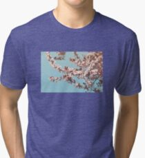 Flowering Cherrytree Tri-blend T-Shirt