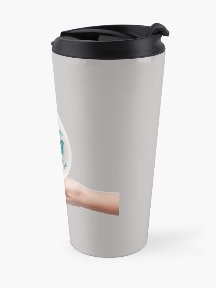 Alternate view of Get Your Clean On Today 2021 Travel Mug