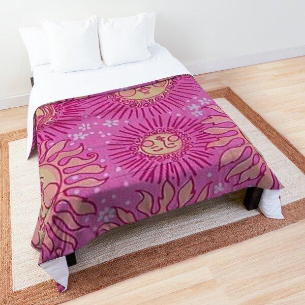y2k indie sun aesthetic Comforter