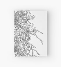Succulents & Orchids - B&W Hardcover Journal
