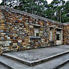 The Port Arthur Cafe remains by Michael Rowley