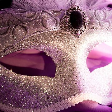Faded Silver Mask by DustysPhotos