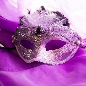 Sparkling Silver Mask by DustysPhotos