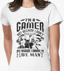 Gamer Have Many Women's Fitted T-Shirt