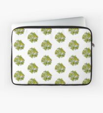 Yellow Roses & Succulents Laptop Sleeve