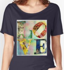 L O V E Women's Relaxed Fit T-Shirt