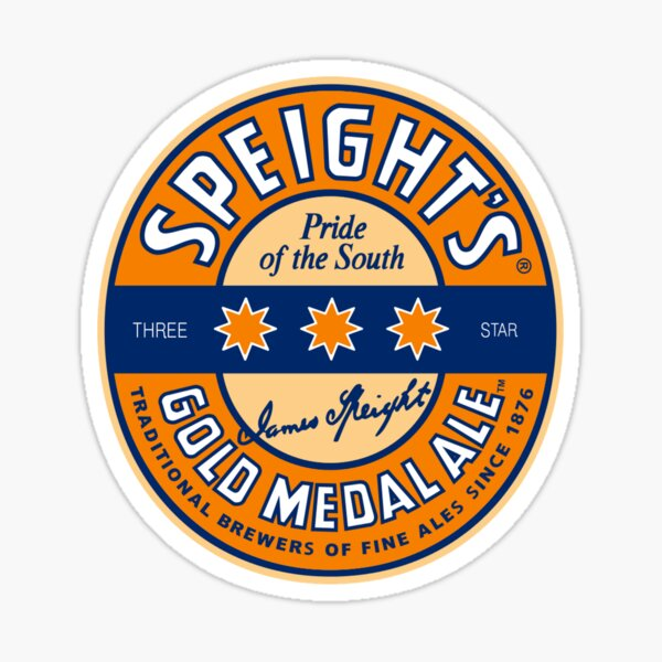 Speight's Gold Medal Ale logo Sticker