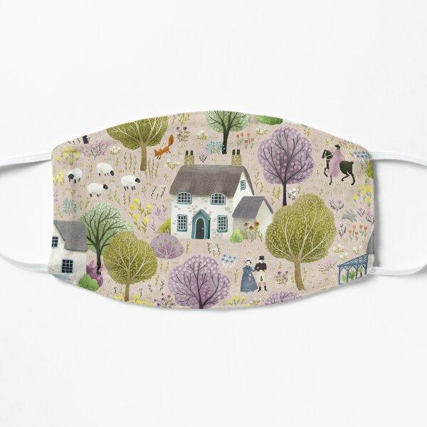 English Cottages Flat Mask