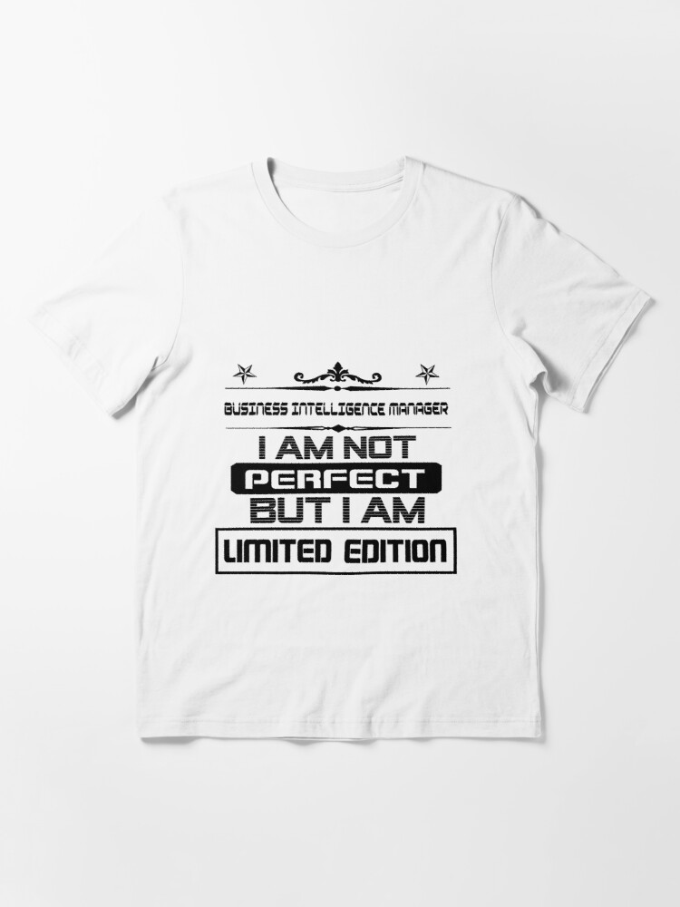 Alternate view of Business Intelligence Manager Limited Edition Essential T-Shirt