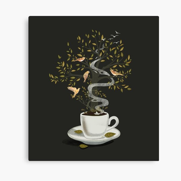 A Cup of Dreams Canvas Print