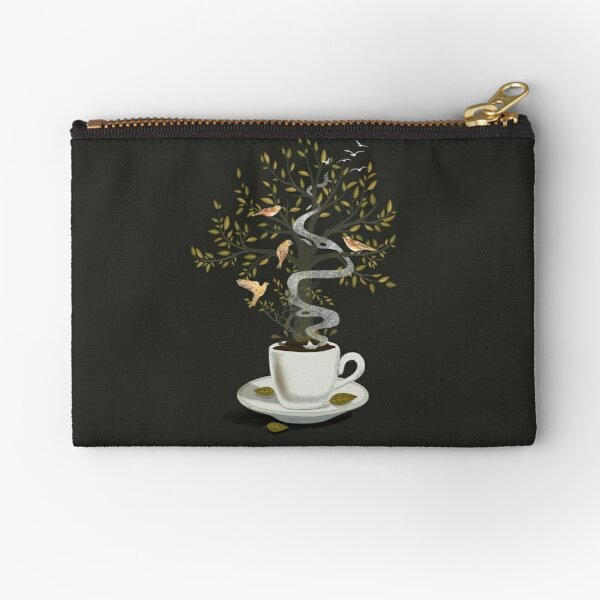 A Cup of Dreams Zipper Pouch