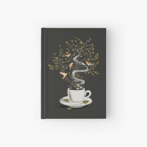A Cup of Dreams Hardcover Journal