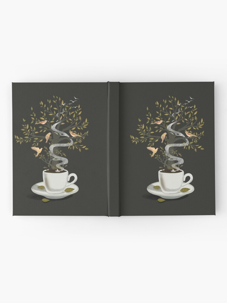Alternate view of A Cup of Dreams Hardcover Journal