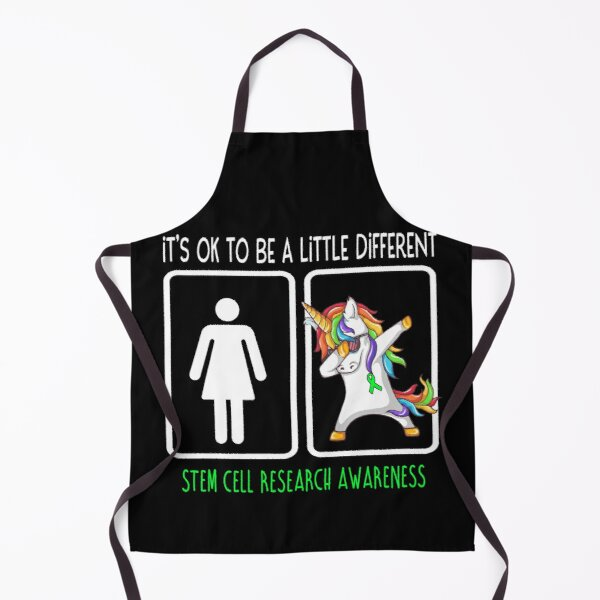 Stem Cell Research Awareness It's Ok To Be A Little Different Apron