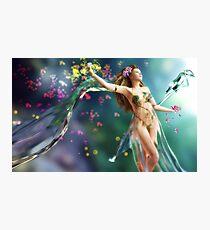 Goddess of Spring Photographic Print