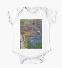 1887 - Gauguin - On the shore of the lake at Martinique One Piece - Short Sleeve