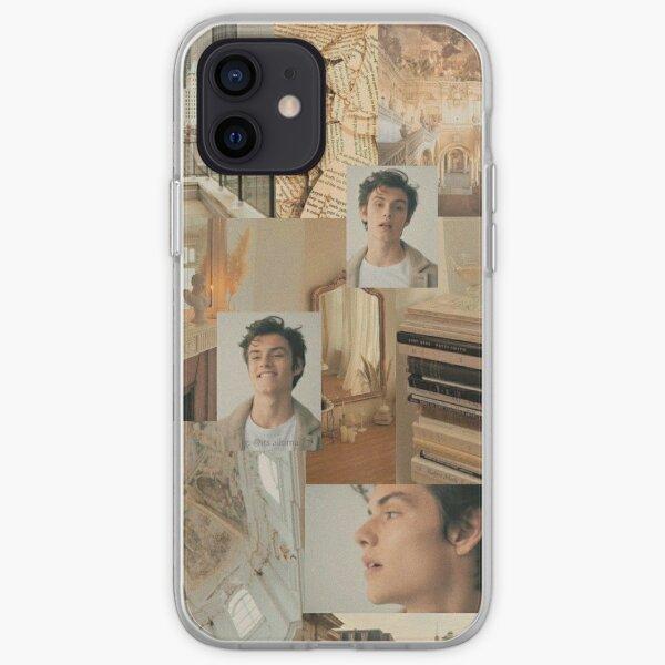 Funda para teléfono Louis Partridge Collage Funda blanda para iPhone