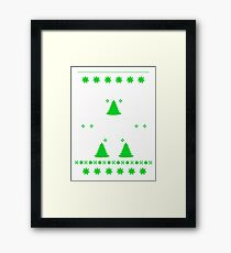 Math Fun T-shirt Framed Print