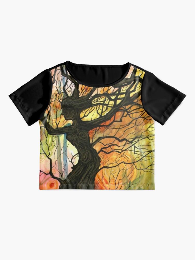Alternate view of Tree of Life Series - Dusk Chiffon Top
