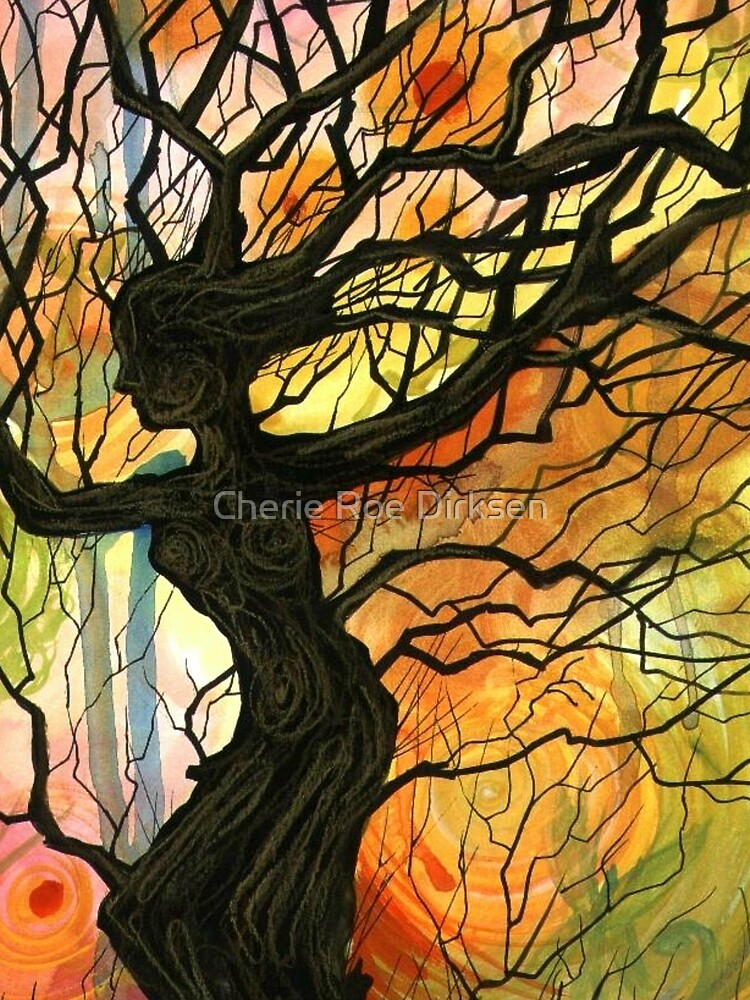 Tree of Life Series - Dusk by cheriedirksen