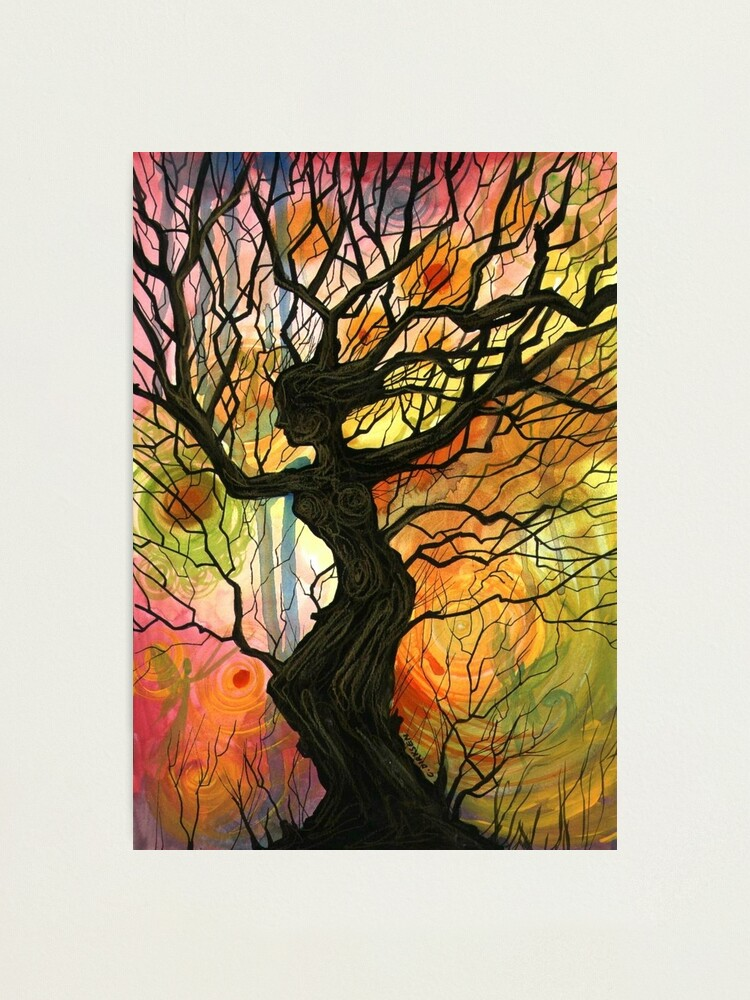 Alternate view of Tree of Life Series - Dusk Photographic Print
