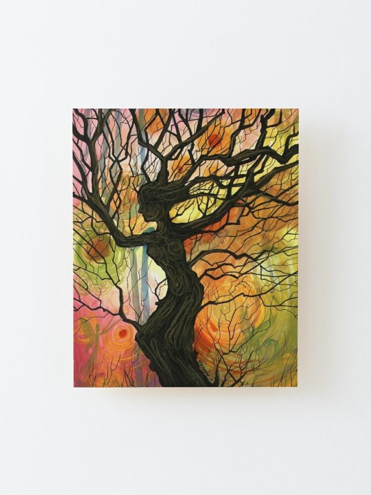Alternate view of Tree of Life Series - Dusk Mounted Print