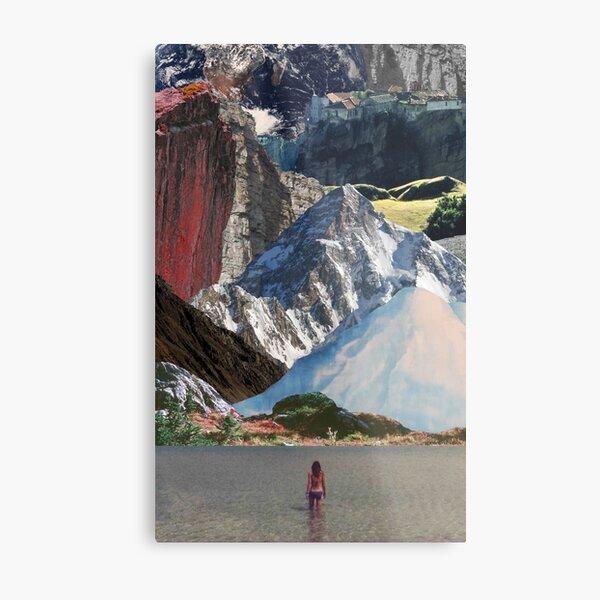 Destination: Mountains Metal Print