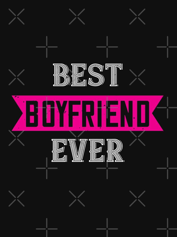 Happy Valentine Best Boyfriend Ever by NextLVLShirts