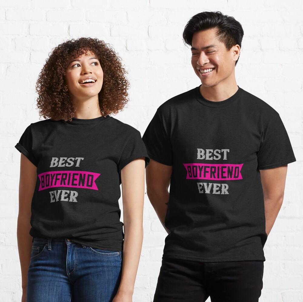 Happy Valentine Best Boyfriend Ever Classic T-Shirt