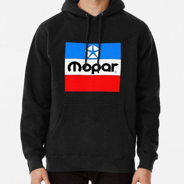 Mopar lassic Mopar Block Logo Pullover Hoodie