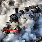 41312 Raises Steam 1 - HDR by Colin  Williams Photography