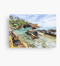 Original Painting: Mystery Bay, NSW, Australia Canvas Print