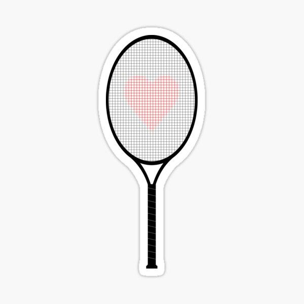 Raquette de tennis Sticker