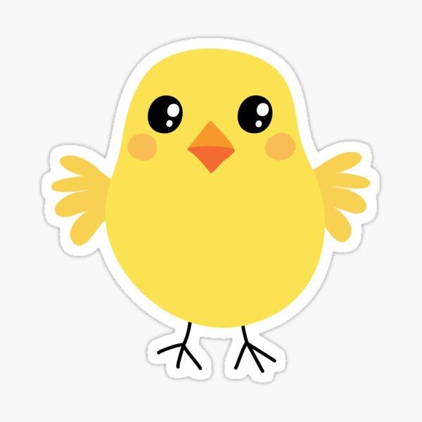 Cute chicken sticker Sticker