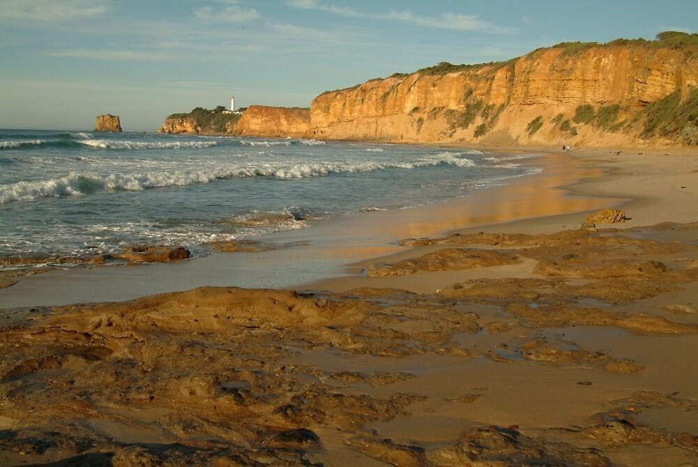 Joe Mortelliti Gallery - Warm morning at Split Point, Aireys Inlet, Great Ocean Road, Victoria, Australia. by thisisaustralia