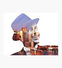 Frank Sinatra New York  Photographic Print