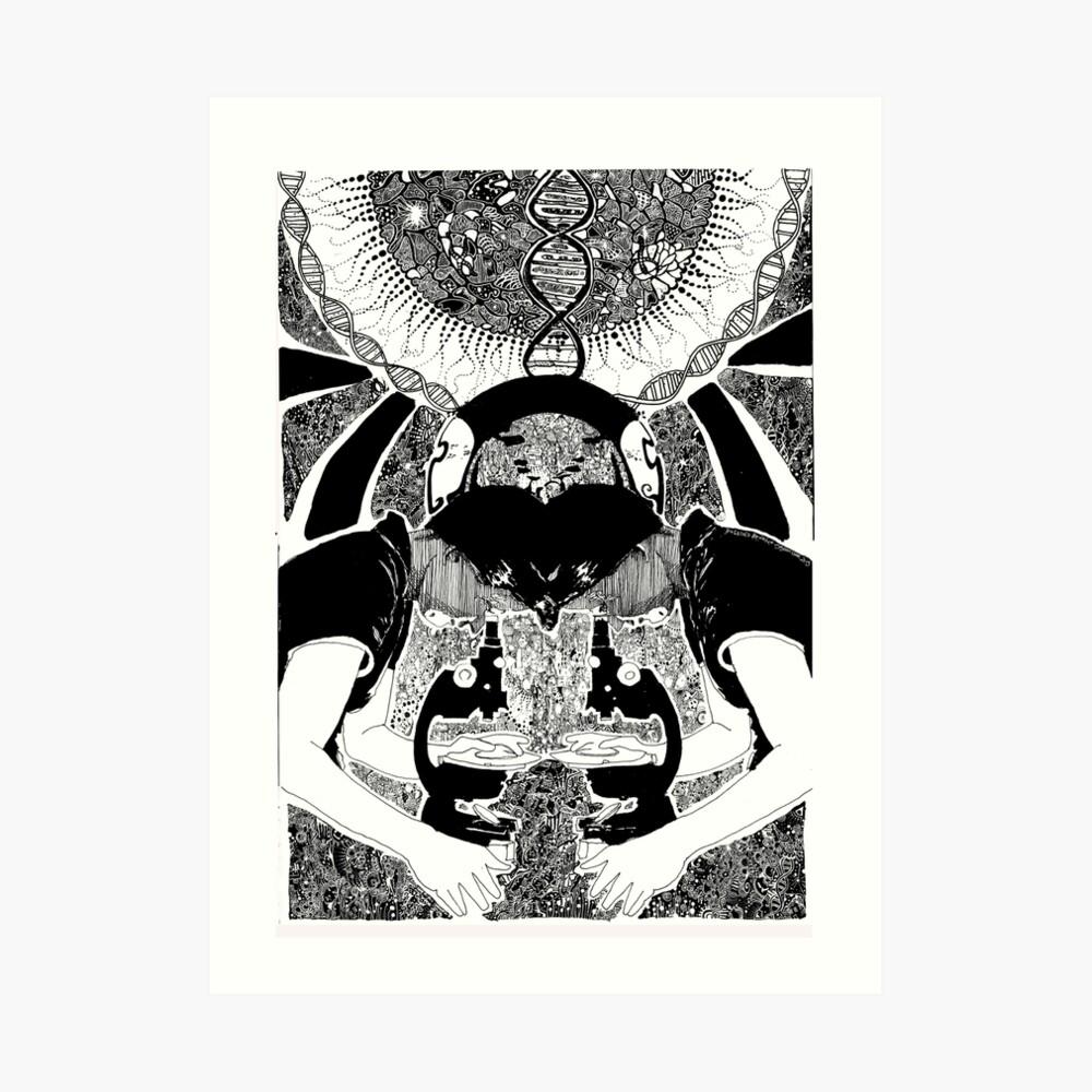Rosalind Franklin Kunstdruck
