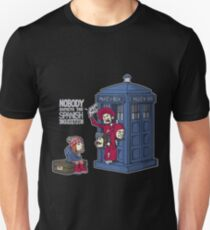 Police Box Nobody Spanish Inquisition Unisex T-Shirt