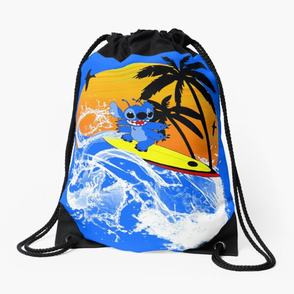 Sea Time Drawstring Bag