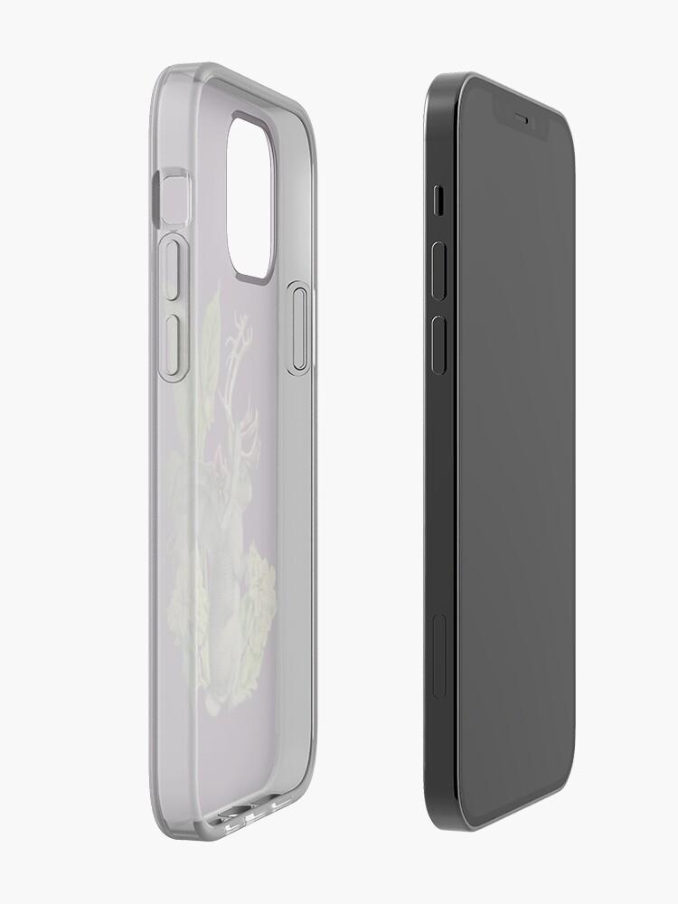 Alternate view of Jackalope Vespertilio (purple) iPhone Case & Cover