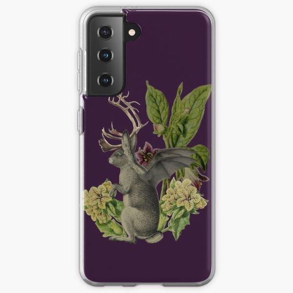 Jackalope Vespertilio (purple) Samsung Galaxy Soft Case