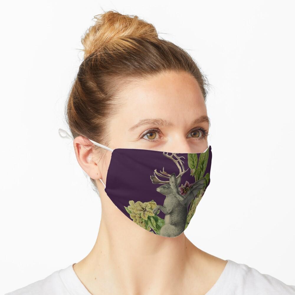 Jackalope Vespertilio (purple) Mask