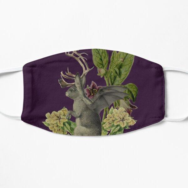Jackalope Vespertilio (purple) Flat Mask